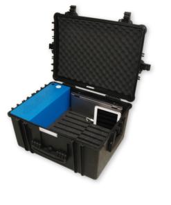 Stockage, charge et casier pour PC portables et tablettes
